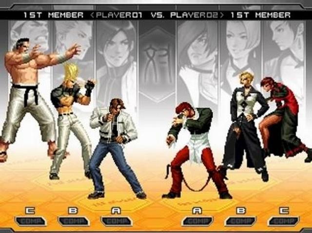 拳皇2002图片