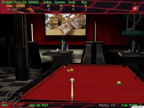 虚拟台球3图片
