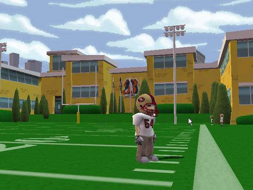 后院美式足球2008图片