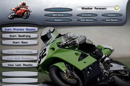 超级摩托车竞赛图片