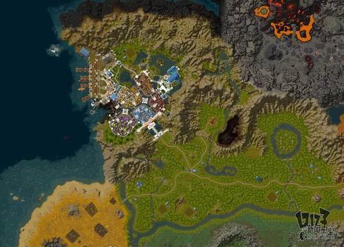 真实的魔兽世界!谷歌地图展示艾泽拉斯大陆
