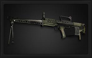 L86A1 轻机枪