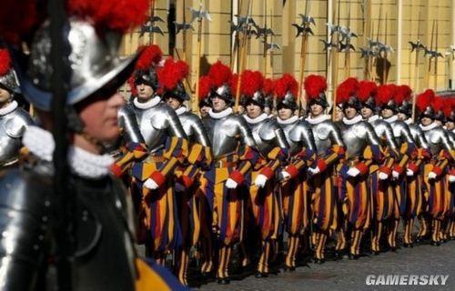 梵蒂冈士兵 额