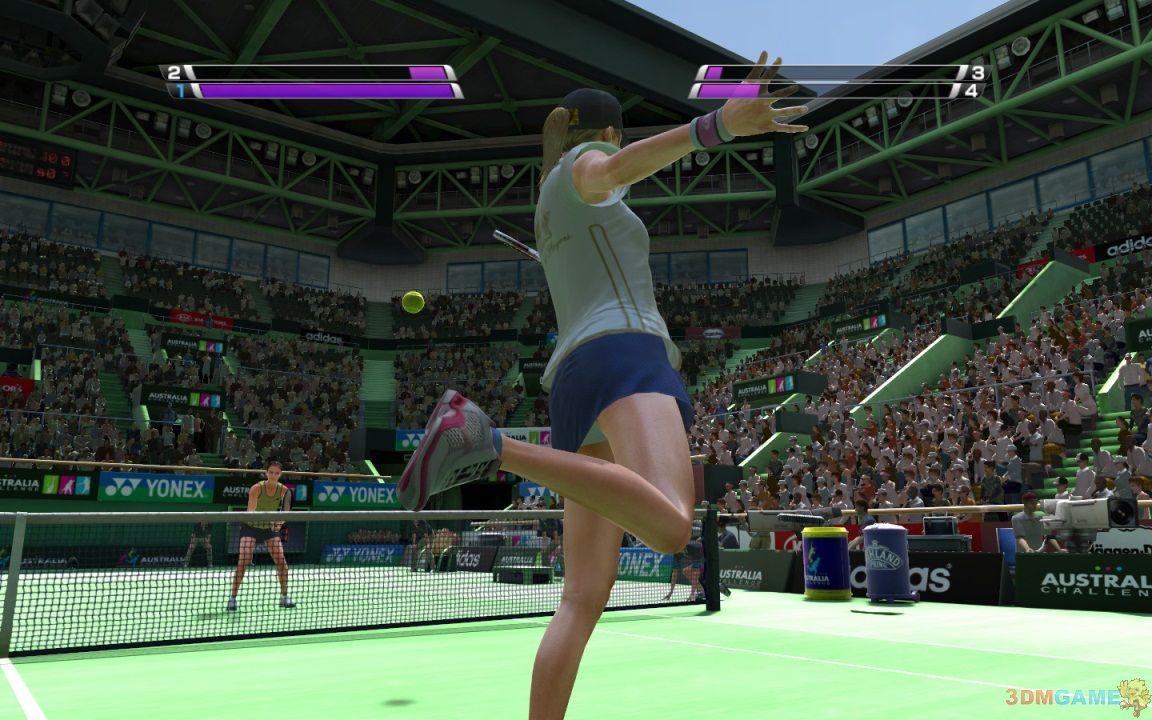 《虚拟网球4》50级服装隐藏人物全解锁