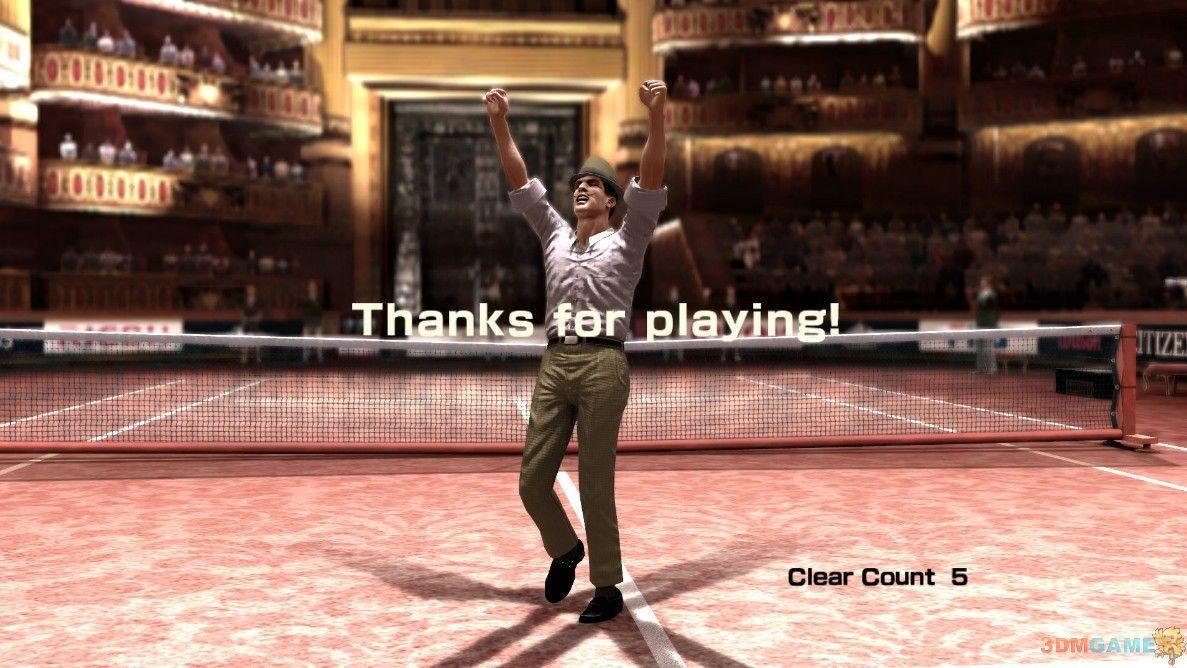 《虚拟网球4》网球资料