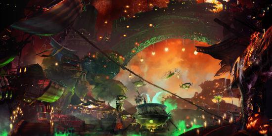 《激战2》万圣节壁纸