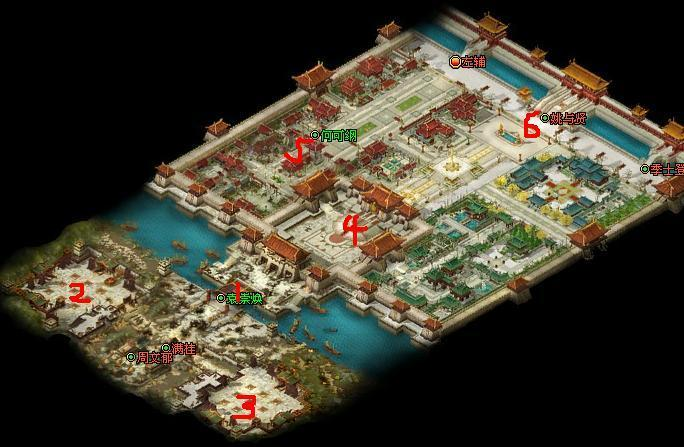 京师保卫战攻略示意图
