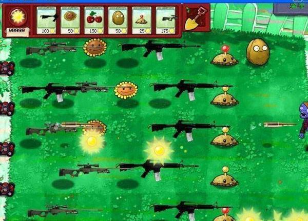 植物大战僵尸军事版图片