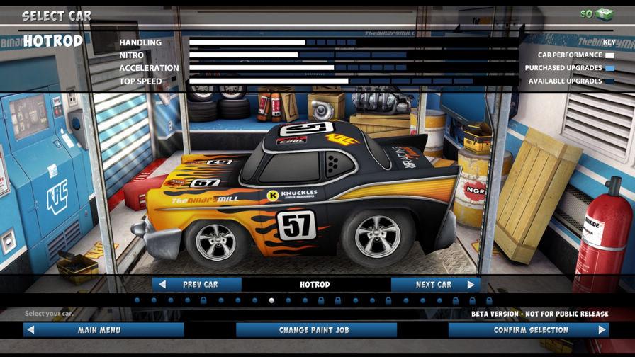 迷你赛车EVO图片
