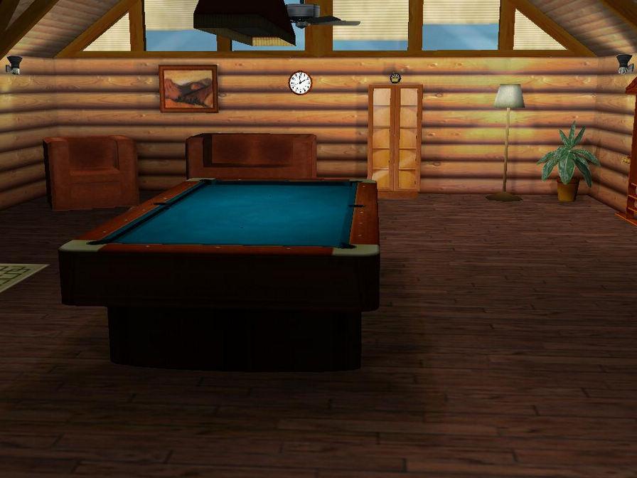 午夜3D台球图片