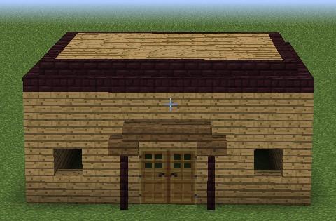 我的世界房子图片_我的世界建筑小教程MC全能住宅改造王之室