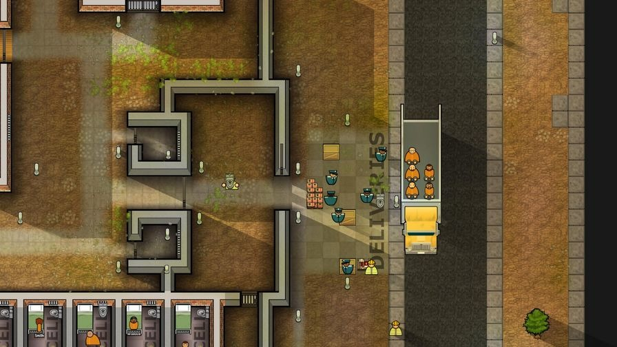 监狱建筑师图片