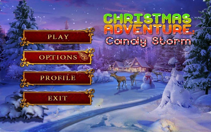 圣诞冒险:糖果风暴图片