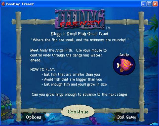 大鱼吃小鱼大鱼吃小鱼游戏单机游戏下载