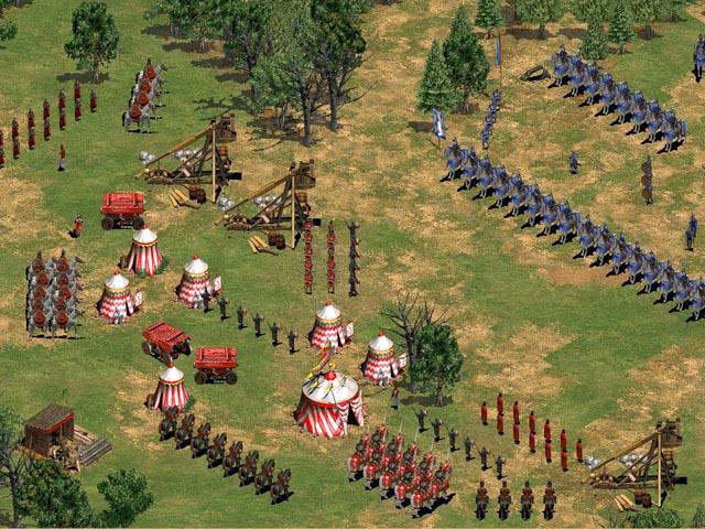 帝国时代2征服者图片