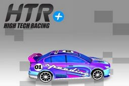 高科技赛车:模拟玩具车赛图片