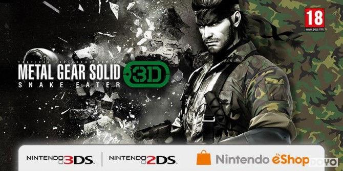 移动体验!3DS《合金装备:食蛇者3D》发行实体