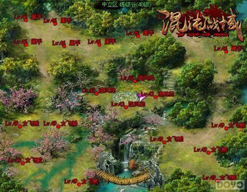 轻松练级 《混沌战域》挂机地图介绍