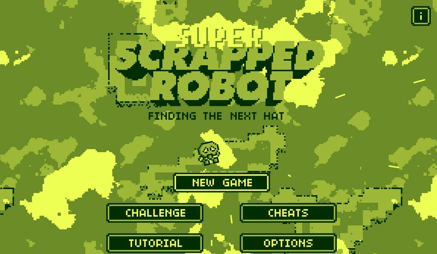 超级废旧机器人图片