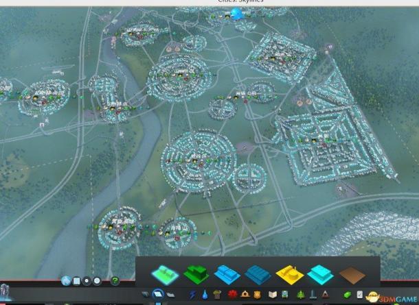 城市天际线人口增长慢_城市天际线电缆及水管布置方案 城市天际线怎么布置电