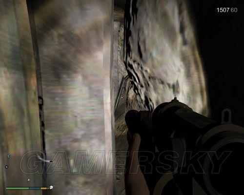 GTA5 礦洞女鬼位置
