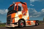 大叔情怀《欧洲卡车模拟2》DLC增加和风卡车涂装