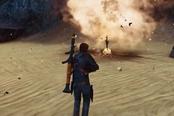 《黑暗之魂》乱入《正当防卫3》 步枪篝火什么鬼