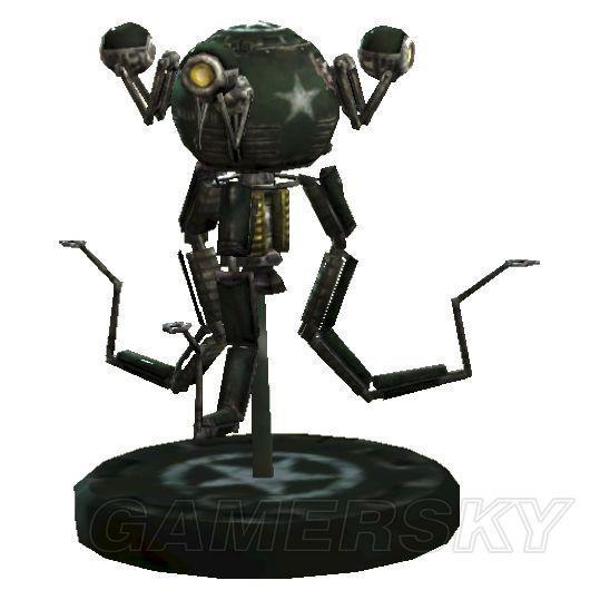《辐射4》全机器人位置原理及锁锁模型_辐射民国铜攻略收集图纸图片