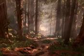 《星球大战:前线》打AI视频 双人合作分屏游玩