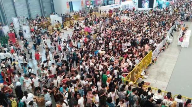 ChinaJoy2016参展观众总数逾27.5万人次 已超去年