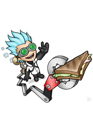 钟表博士之烤三明治时间