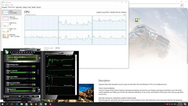 《极限竞速:地平线3》新补丁单线程CPU问题仍存