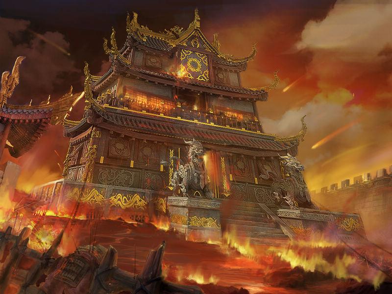 铁血皇城图片