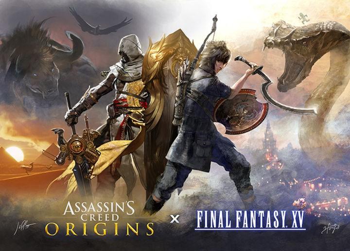 《最终幻想15》联动《刺客信条:起源》出DLC 《守望先锋》天使技能大改