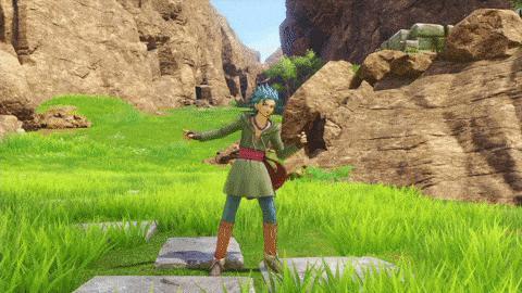 舞动人心 玩家票选《勇者斗恶龙11》主角跳舞身姿