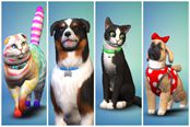 喵汪星人来袭 《模拟人生4》资料片猫狗宠物预告