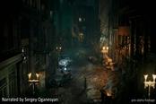 克苏鲁游戏《沉没之城》技术演示 城市黑暗角…