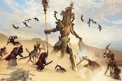 《全面战争:战锤2》古墓王DLC演示 亡灵军团…