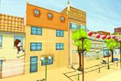 《安吉洛:滑板冒险》上线Steam 手游移植的跑酷类游戏