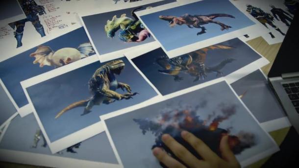 """《怪物猎人:世界》幕后视频第三部""""工艺""""展示"""