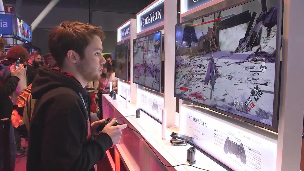 《血之暗号》游戏展试玩火爆 玩<a class='simzt' href='http://www.3dmgame.com/games/home/' target='_blank'>家</a>称很像黑暗之<a class='simzt' href='http://www.3dmgame.com/games/tamashi/' target='_blank'>魂</a>