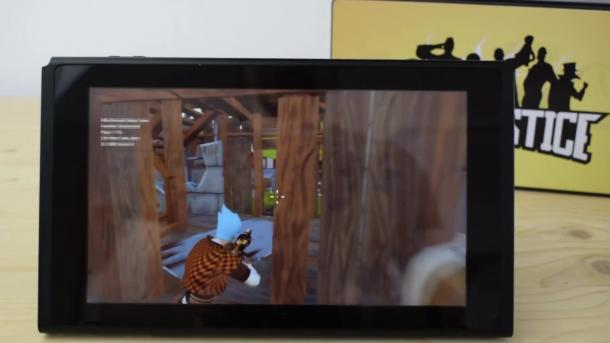 Switch吃鸡游戏《疯狂正义》视频 战场狂搜装备