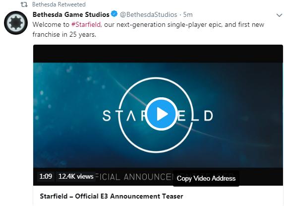 E3 2018:《星空》公布 B社25年以来全新力作