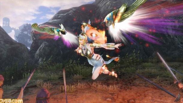 《无双大蛇3》雅典娜登场 女神背部翅膀炫酷