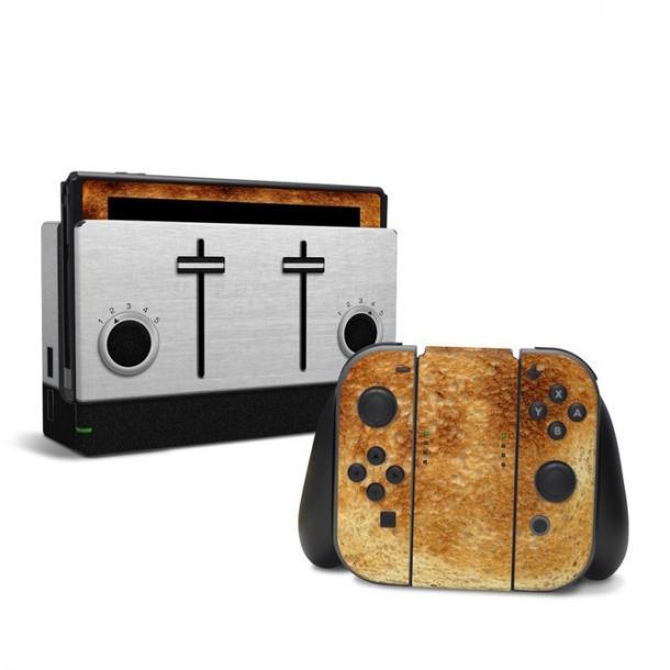 """任天堂Switch烤吐司贴纸上架 看着就很有""""食欲"""""""