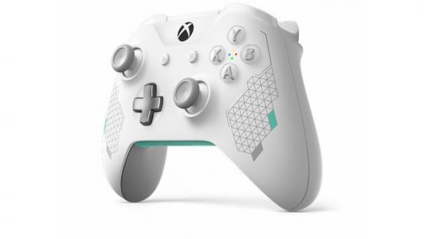 """Xbox""""女武神""""主题无线手柄公布 白色外观优美至极"""