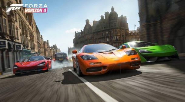 《极限竞速:地平线4》首周玩家数超200万人