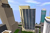 迷你世界:玩家制作城市地图,高楼大厦林立,让人身临其境
