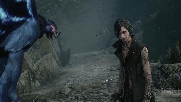 新角色V很厉害 《鬼泣5》全新实机宣传片展示