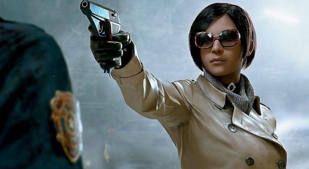《生化危机2:重制版》霸道总裁版里昂美照 女玩家尖叫!